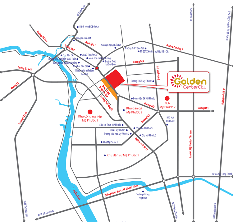 dự án golden center city
